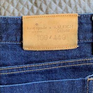 Kate spade Raleigh denim jeans!!!